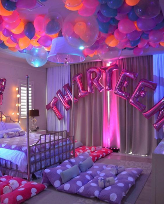 Best 20 Birthday Party Ideas For 13 Year Olds Birthday Party For Teens 13th Birthday Party Ideas For Girls Sleepover Party