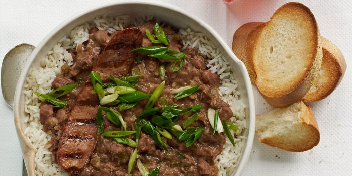 Red Beans and Rice Recipe | Garden and Gun