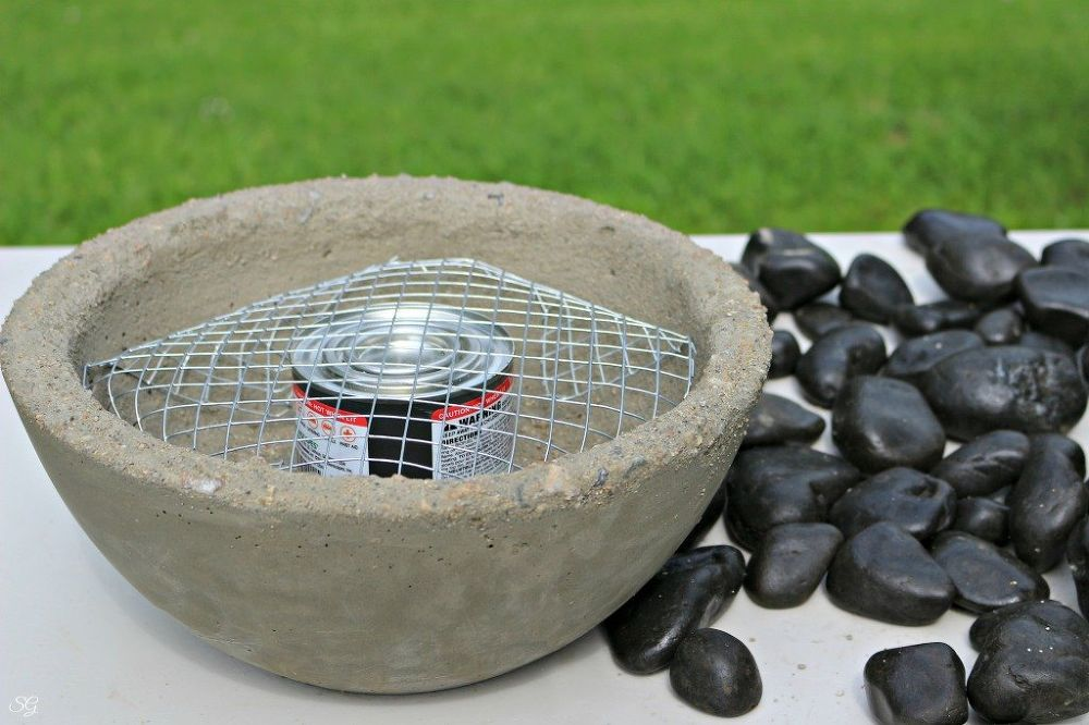 Diy Tabletop Fire Bowl Tabletop Fire Bowl Fire Bowls Tabletop Firepit
