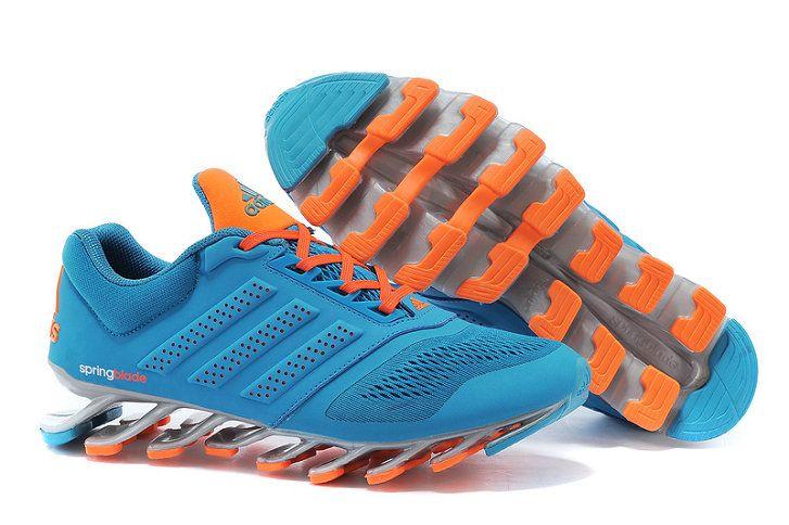 24fc1b0fcf96 Adidas Springblade Drive 2 Shoes SkyBlue Orange