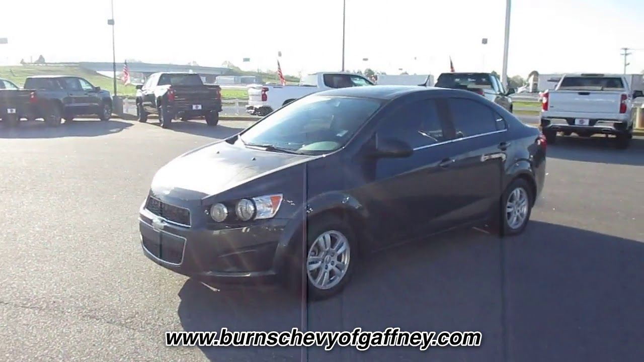 Used 2014 Chevrolet Sonic Lt At Burns Chevrolet Of Gaffney Used