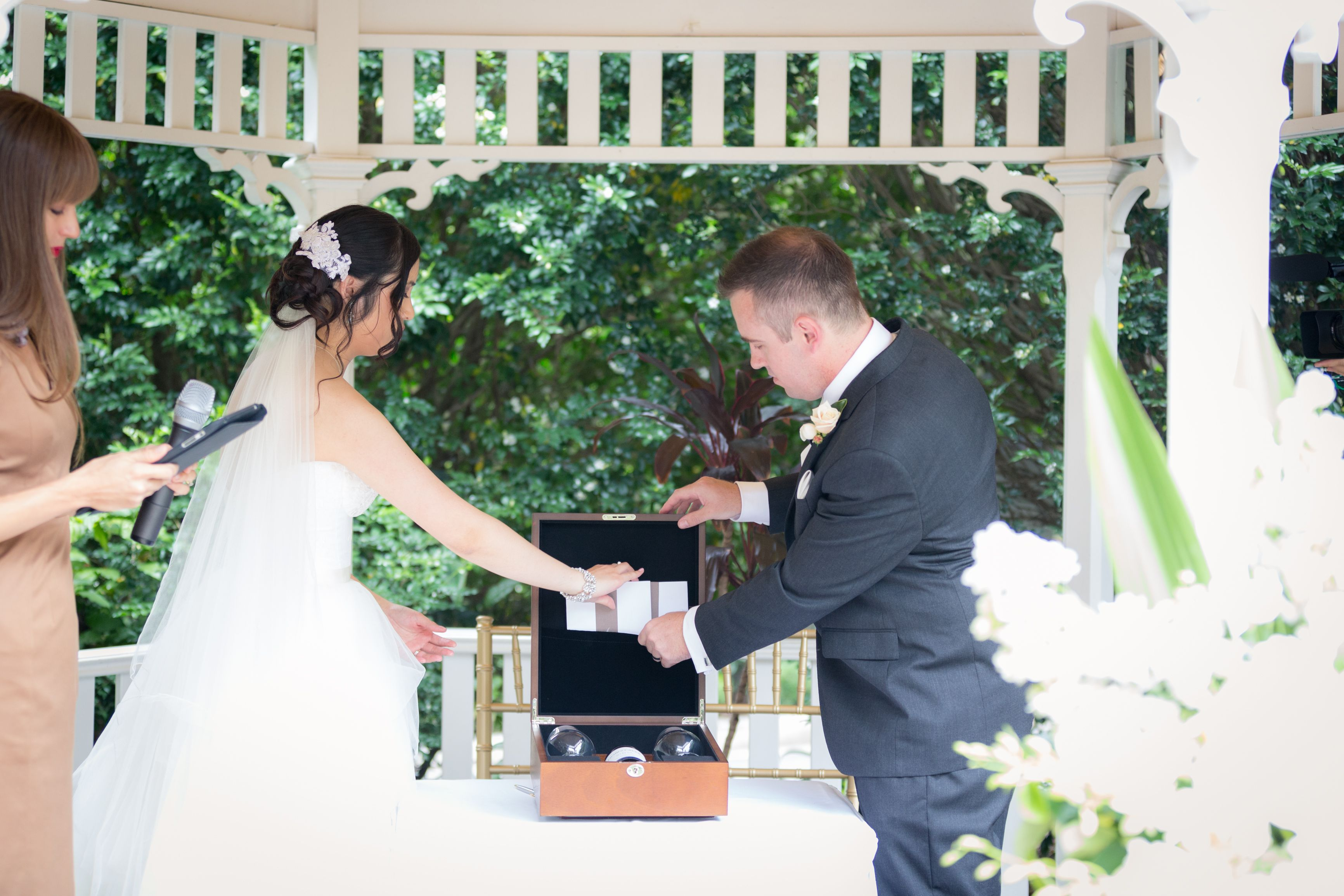 Love letter box wedding ceremony ritual rituals ideas for Love letter wedding ceremony