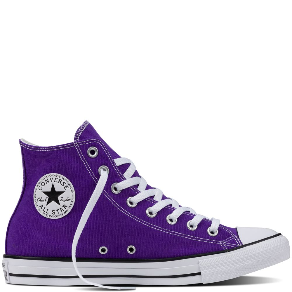 Chuck Taylor All Star Fresh Colours Electric Purple electric ...