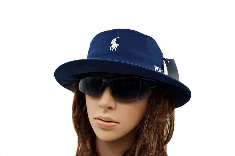 Men's / Women's Polo Ralph Lauren Big Pony Logo Embroidery Signature Logo Fisherman Bucket Hat - Rose / Black