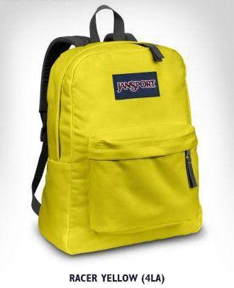 Jansport Backpack Superbreak - Racer Yellow | Ceren - Bir Gün ...