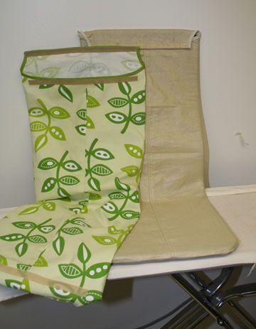 poang chair slip cover tutorial   Fundas para sillas