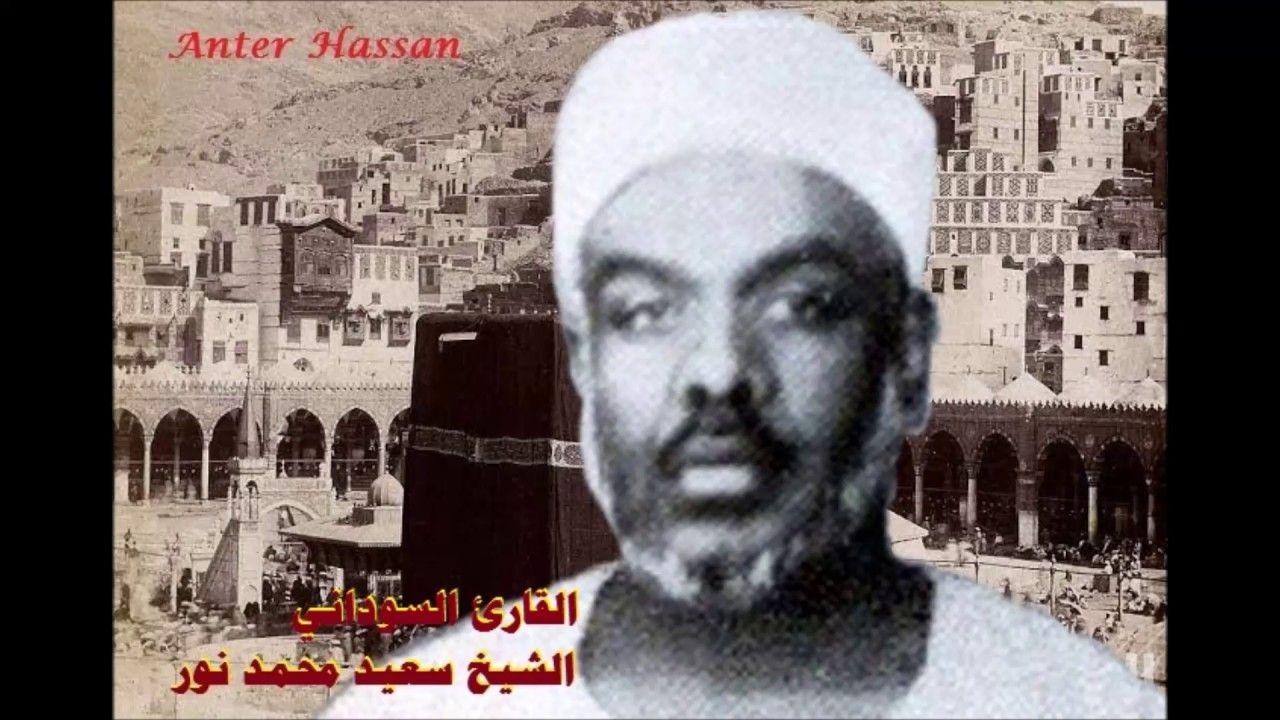 الشيخ سعيد محمد نور قارىء