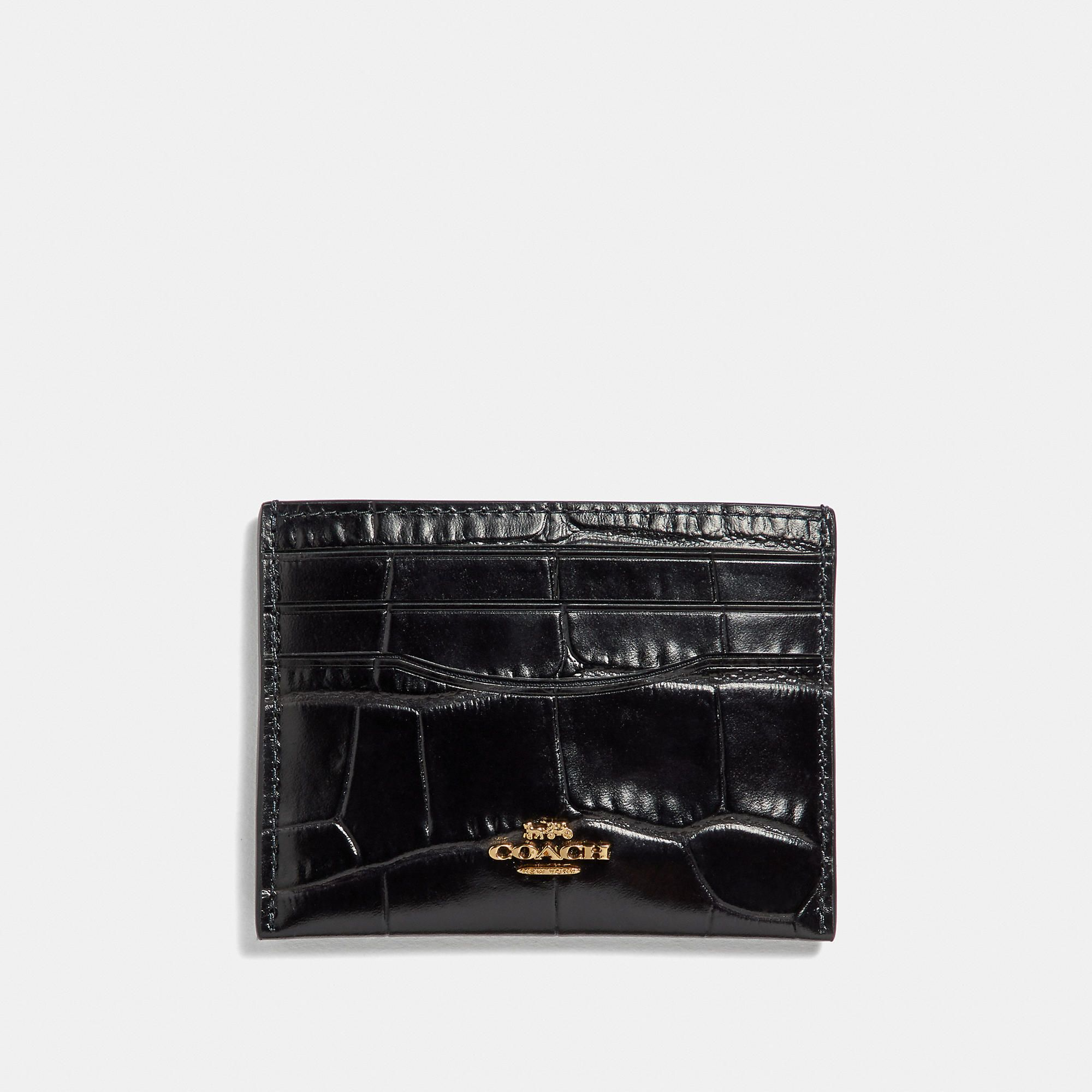 6161decf7c COACH Card Case - Women's Cardholder in 2019 | Products | Leather ...