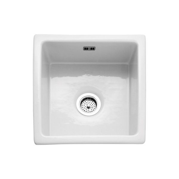 Caple berkshire ceramic 450mm wide white inset or undermounted caple berkshire ceramic 450mm wide white inset or undermounted kitchen sink berkshire sinks from clc workwithnaturefo