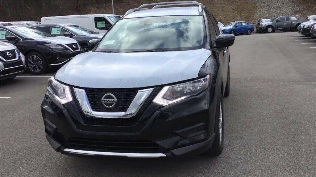 Used 2020 Nissan Rogue SV Black Pearl Nissan