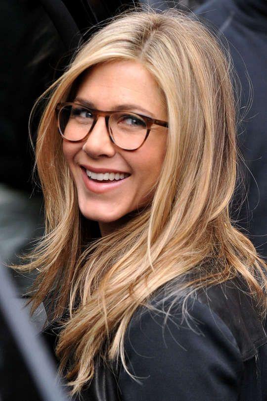 Optische Brillen   Frisuren langhaar, Promi brille, Haar styling