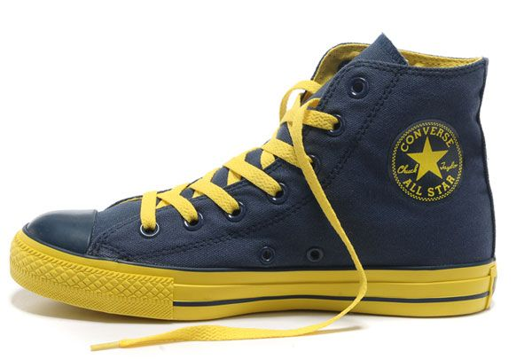 all star converse alte blu