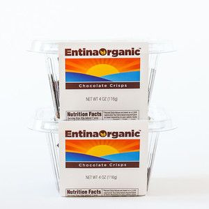 Organic Chocolate Crisp 2 Pack now featured on Fab.