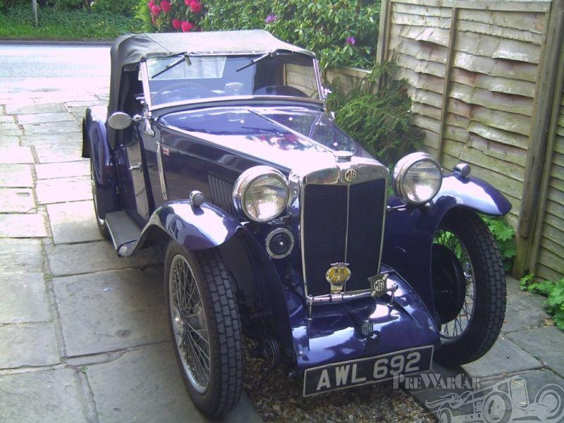 MG PA Sports 1934 | Vintage British Sports Cars | Pinterest | Daily ...