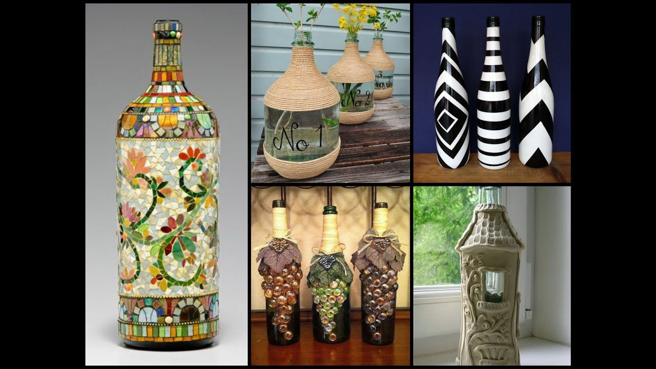 50 Beautiful Bottle Decorating Ideas Diy Recycled Room Decor