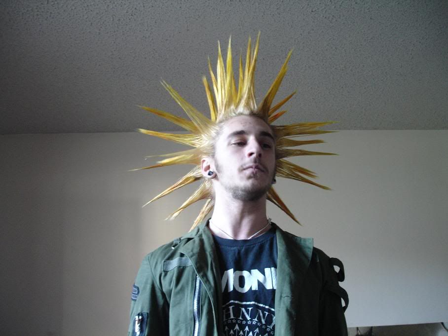 Liberty Spikes Yellow Top Men Hairstyles Pinterest