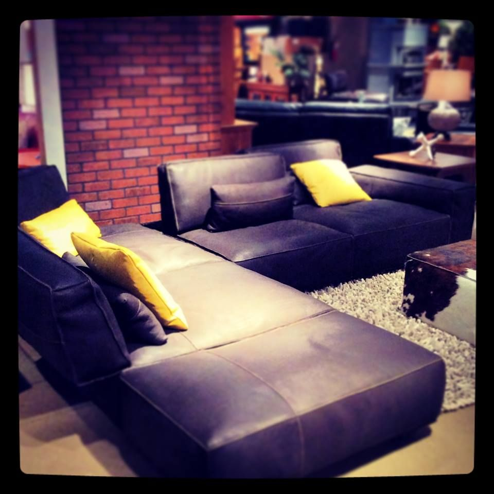 Our Beautiful Leather Gamma Sofa Is The Epitome Of Furniture With