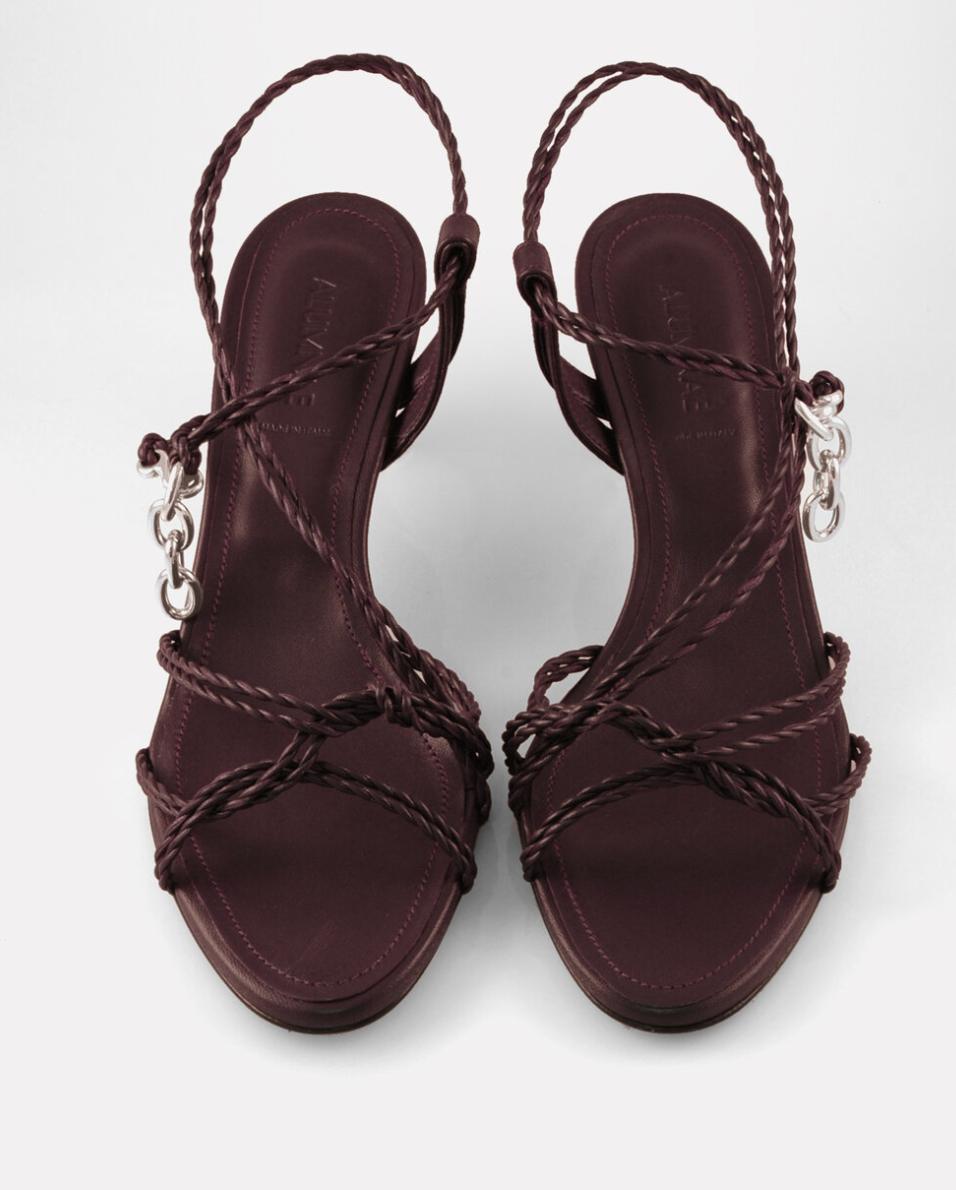 Alumnae Mignon Twist Kitten Heel Sandal Vina In 2020 Kitten Heel Sandals Sandals Heels Kitten Heels