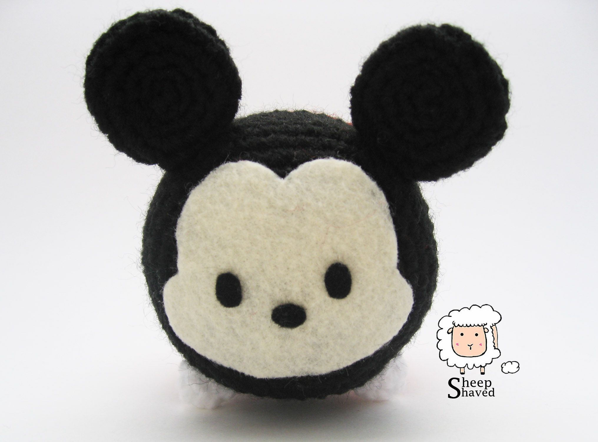 Crochet mickey mouse tsum tsum album on imgur crochet mickey mouse tsum tsum crochet pattern by sheep shaved bankloansurffo Choice Image