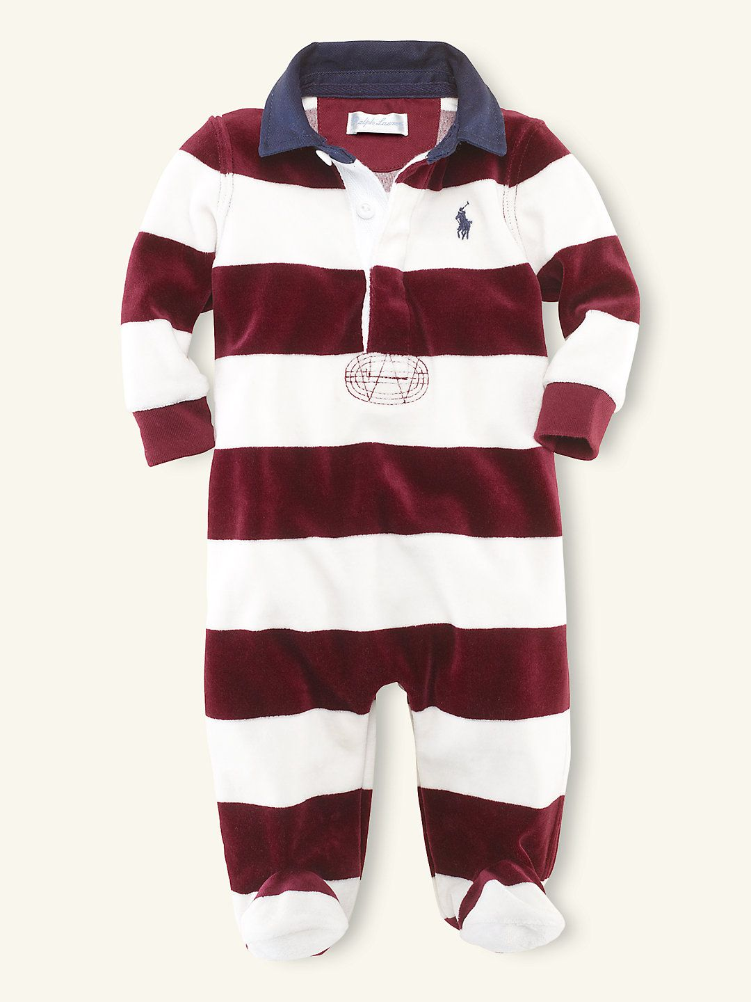052d1aaa Velour Rugby Coverall - One-Pieces Layette Boy (Newborn–9M ...