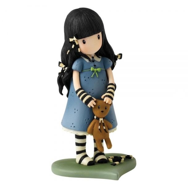 Gorjuss Collector Figurines - Forget Me Not Figurine - Santoro Ornament A26474 #FineGifts #GorjussFigurineGiftCollectables