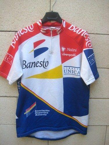 Maillot cycliste BANESTO camiseta Nalini cycling shirt jersey vintage XL c5b4d4e5b