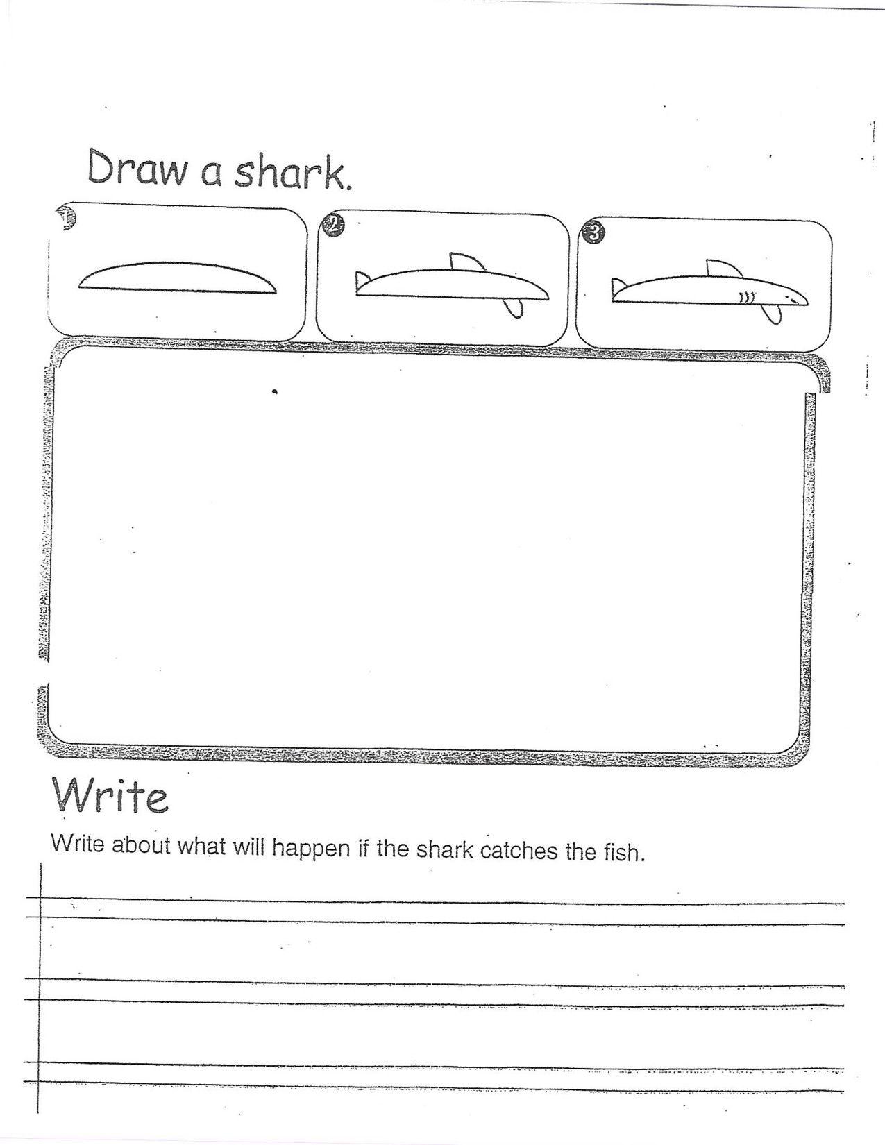 Draw A Shark