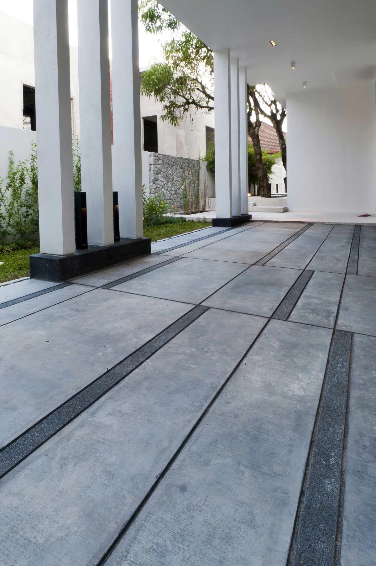 Stone Terrace Modern Home In Kuala Lumpur Dream House