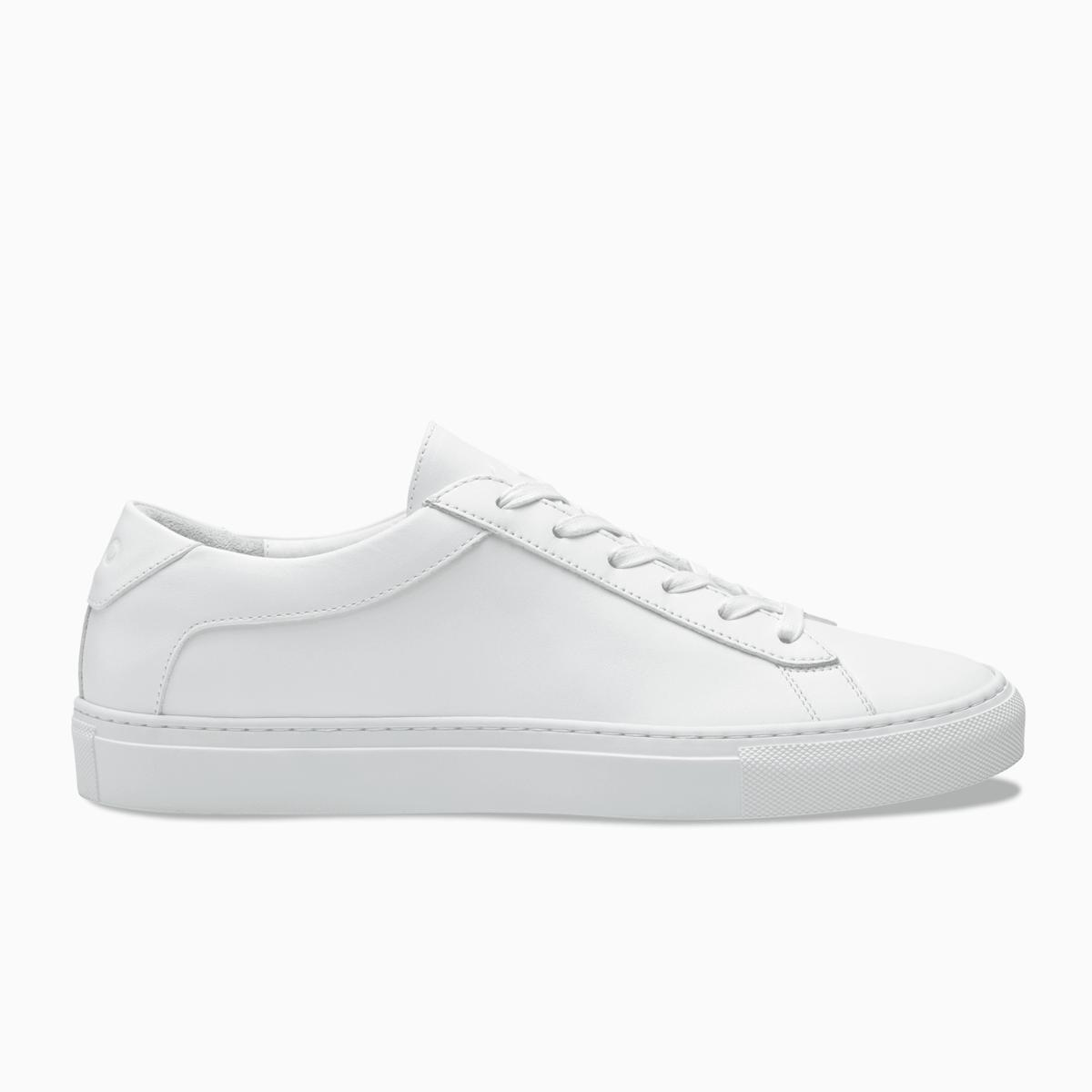 Capri Triple White White Leather Sneakers White Sneakers Men White Sneakers Women