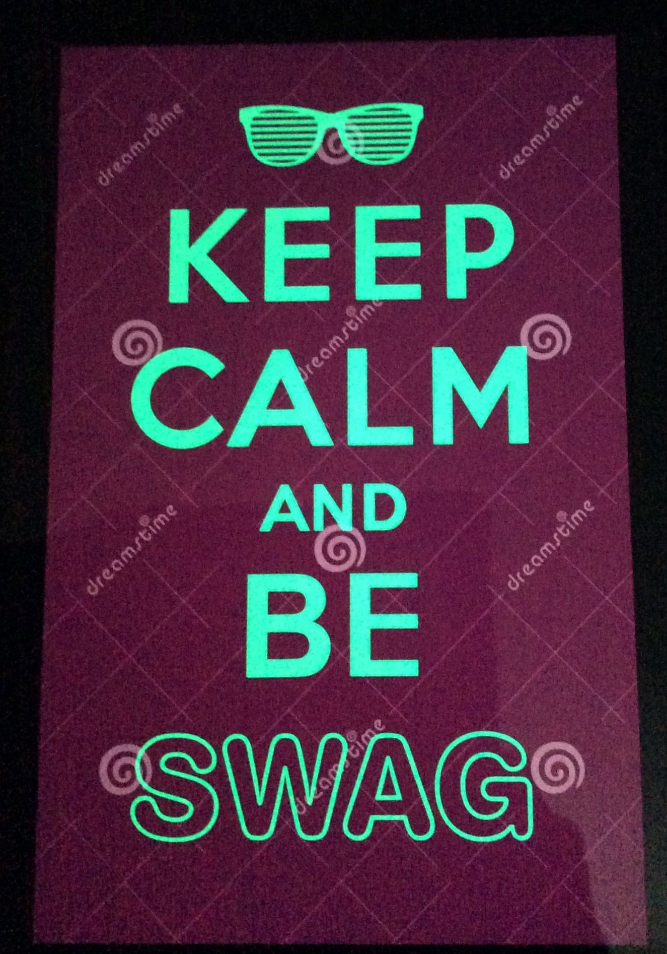 You always have to have swag