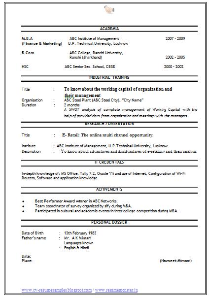 free download sales marketing resume http www resumecareer