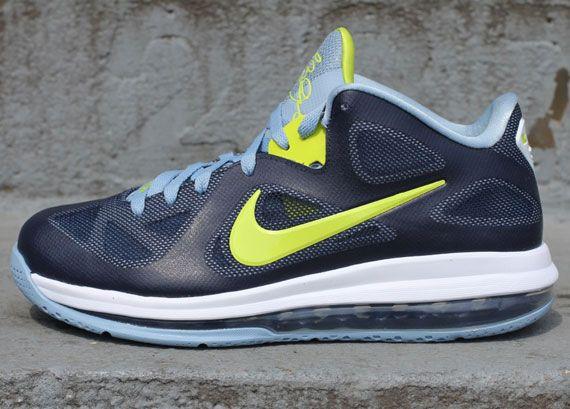 Buy Online Cheap Nike Lebron 9 Low Obsidian Cyber