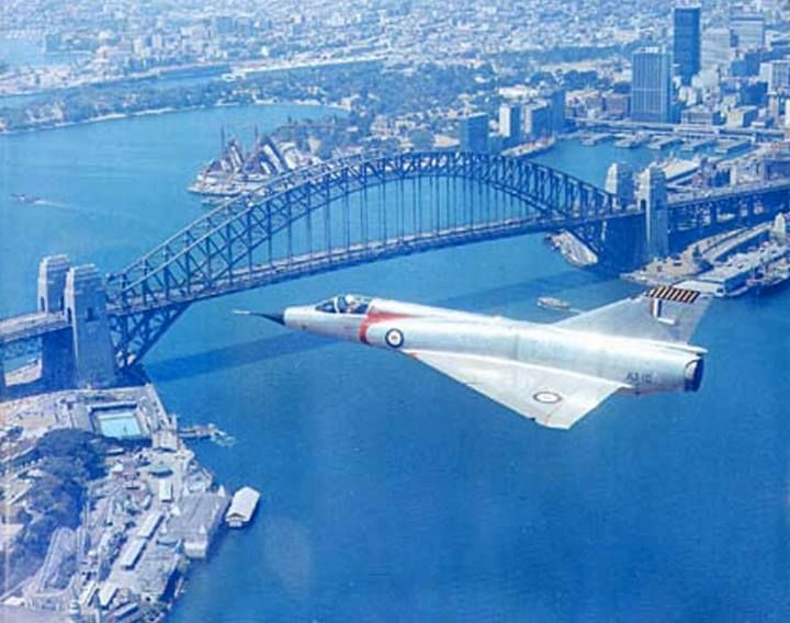 Mirage over Sydney Harbour