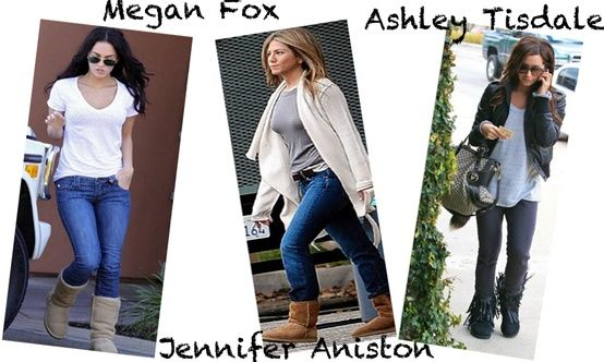 Celebs spotted wearing UGGs