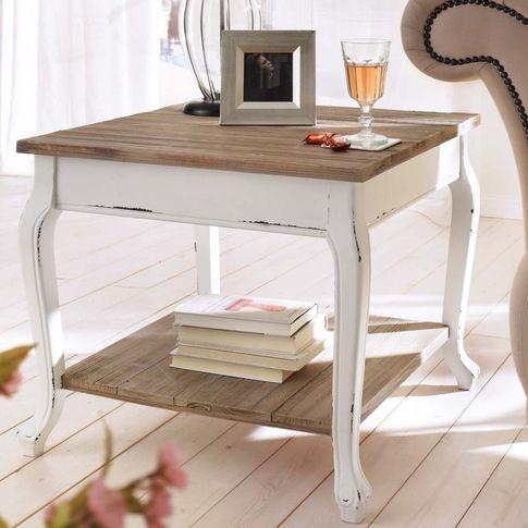 Beistelltisch Country In Weiss Von Liamare Bei Gingar De Home Decor Furniture Home Diy