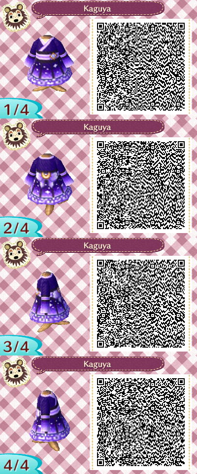 Acnl Qr Code Moon Kimono Animal Crossing Qr Animal Crossing Qr