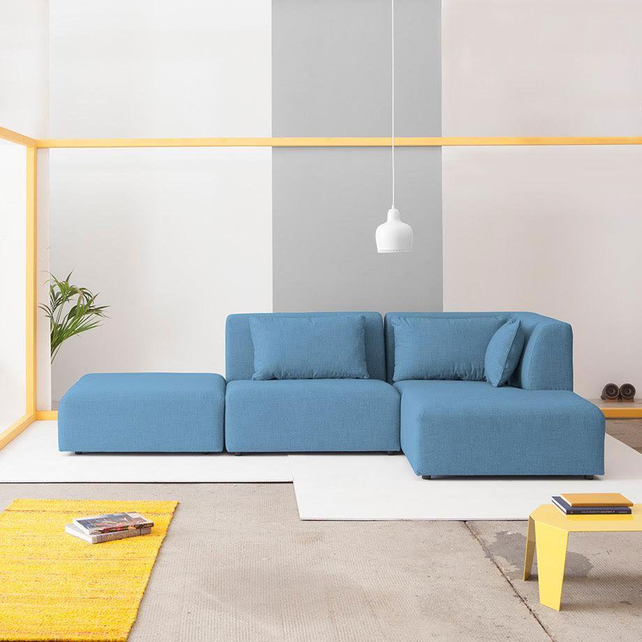 Modular Sofas for Modern Spaces by Fabrik #MONOQI | SEATING ...