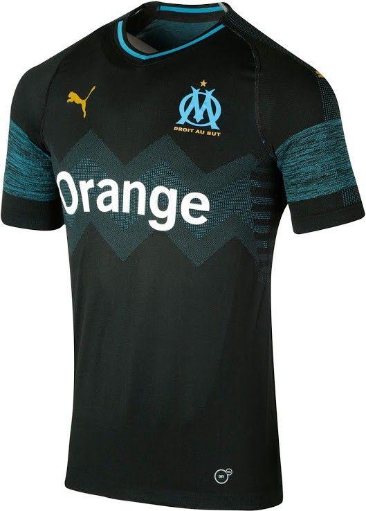 Marseille 18 19 third   kits   clubs   Marseille, Football і Soccer d8e0e57c6c8a