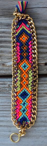 Modern Friendship Bracelet by Ibonkza