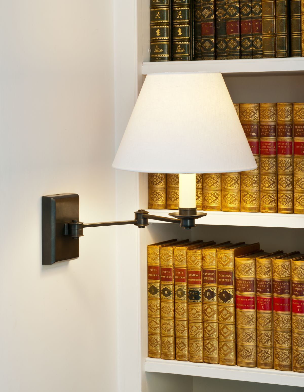 Preston Swing Arm Wall Light Vaughan Designs Lighting In