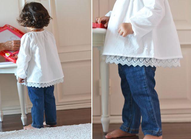 As primeiras calças de ganga, o corte de cabelo e um novo estilo!