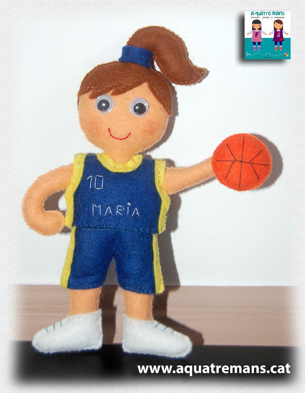 Basket player / Jugadora de baloncesto / Jugadora de bàsquet | FELT ...