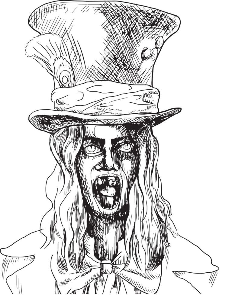 Nightmares - Scary Coloring Book For Teenagers and Adults ...