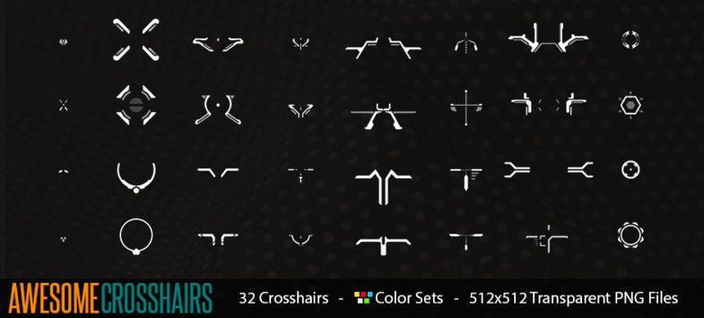 Awesome Crosshairs Sponsored Ad Crosshairs Awesome Icons