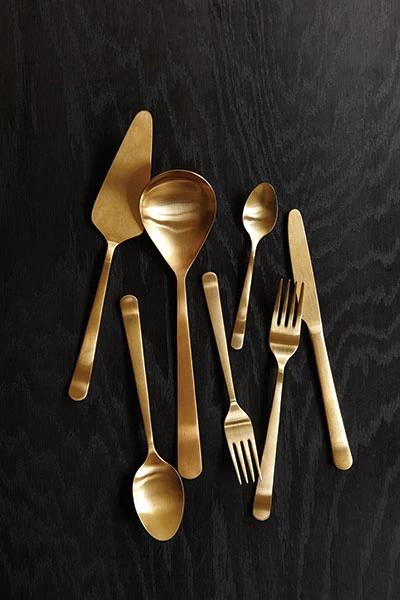 Oslo Versatile Cutlery Set In Matte Black Flatware Canvas Home Flatware Set Stainless Steel Flatware Cutlery Set