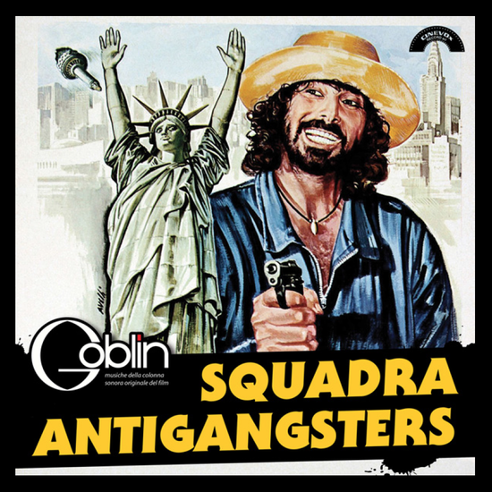Squadra Antigangsters by Goblin (White vinyl Exclusive) in