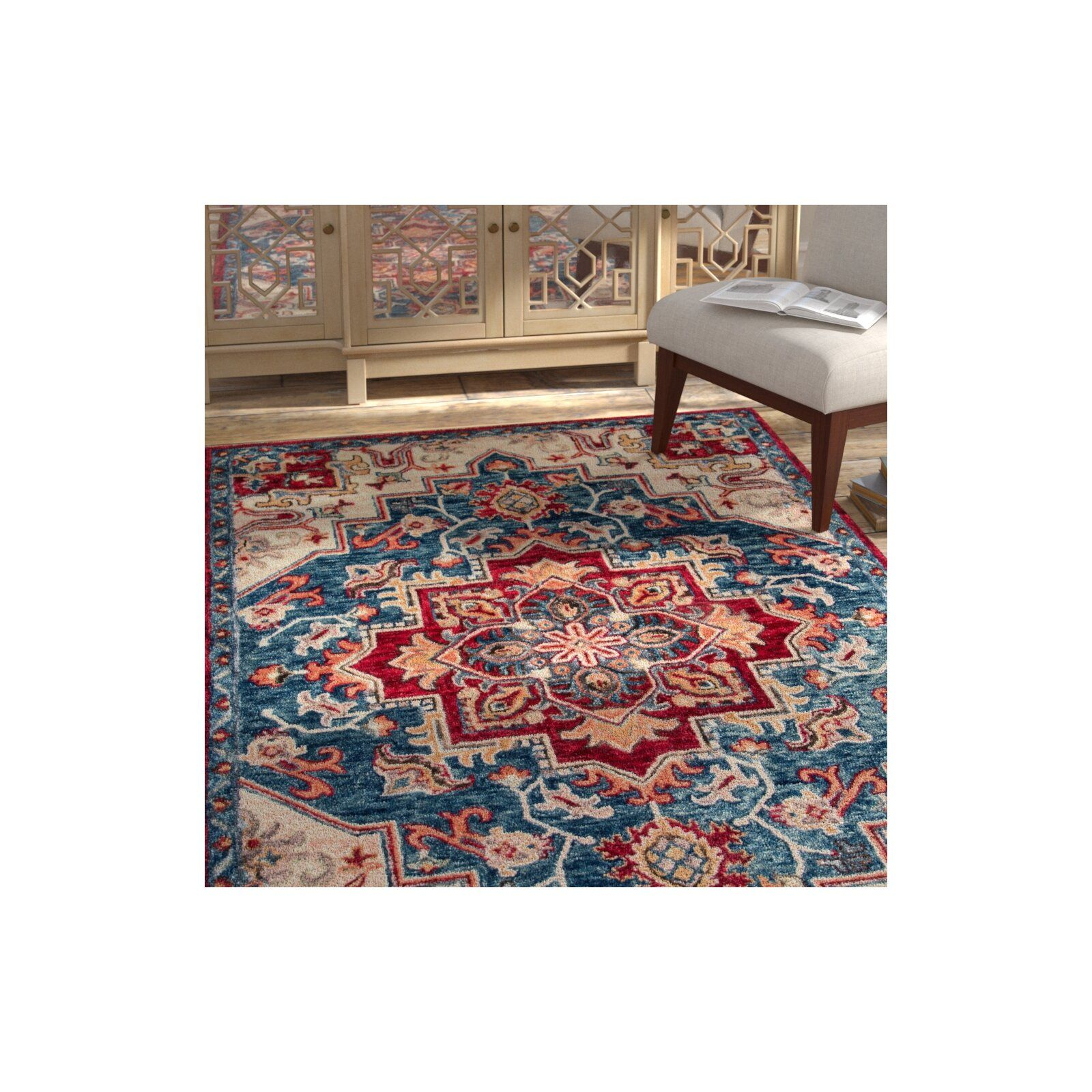 Inyo Oriental Hand Tufted Wool Red Area Rug In 2020 Rugs Area Rugs Red Area Rug