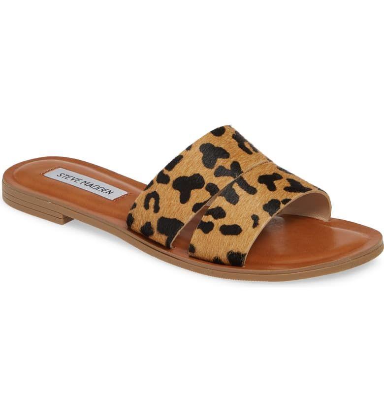 Leopard sandals, Womens sandals, Sandals