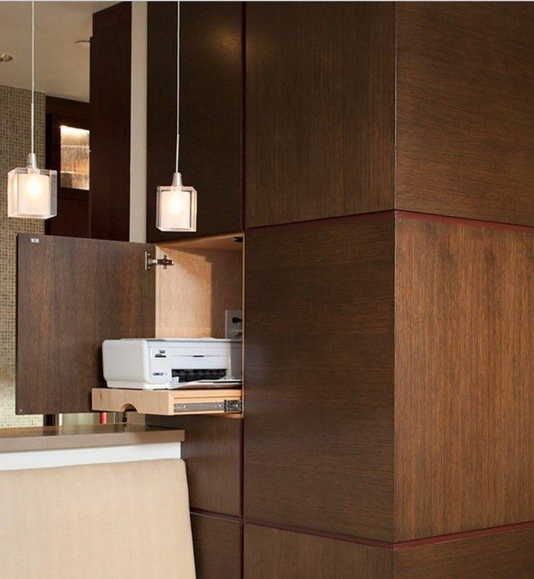 Regalsystem mit Holzfronten und Push to open Mechanismus | Möbel ...