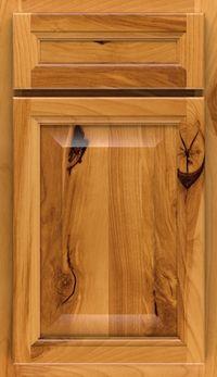 Ayden 5 Piece Rustic Birch Raised Panel Cabinet Door In Fawn